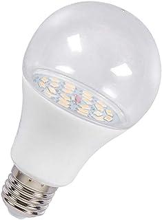 Fenteer E27 LED Grow Light Bulb Full Spectrum Lamp Fits for Greenhouse Plant/Flower - 12W A
