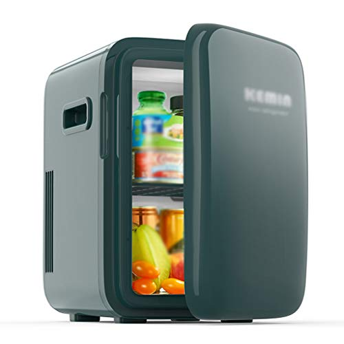 Old Street Autokühlschrank 10L Mini-Kühlschrank tragbarer Kühlschrank Halbleiter-Kühlwagen Auto nach Hause Dual-Use-Party Outdoor-Camping-Ausflug