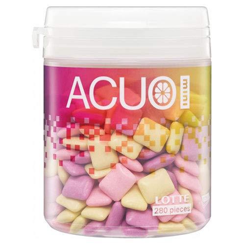 ロッテ ACUO(アクオ) mini クリアフルーツミックス ファミリーボトル 140g×6個入×(2ケース)