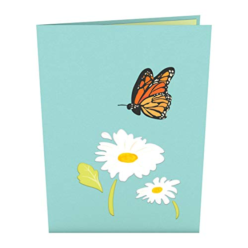 Lovepop Daisy Patch Pop Up Card - 3D Card, Easter Pop Up Card,Mother's Day Card, Spring Card, Card for Mom, Mom Card, Greeting Card, Card for Wife, Flower Card, Appreciation Card Photo #4