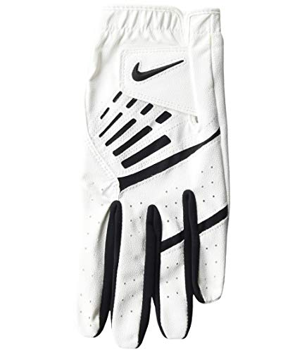 Nike Golf Glove Womens White DURA Feel L/H Golfhandschuh, weiß, Medium - Large
