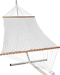 Hangit 13'FT Soft Comb Quilted Hammock Sleeping Bed for Double Person use
