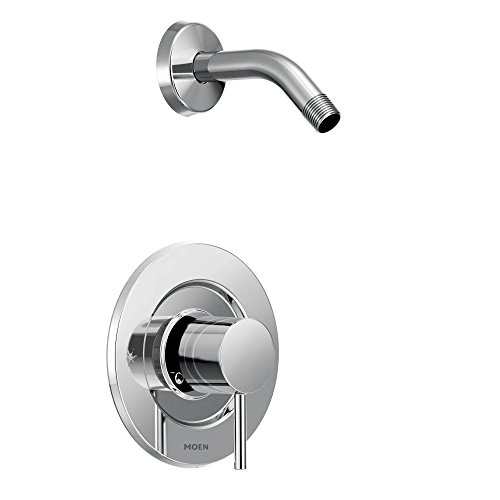 Moen T2192NH Align Posi-Temp Pressure Balancing Modern Shower Trim Kit without Showerhead, Valve Required, Chrome