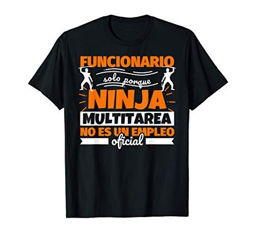 Funcionario regalo divertido ninja Camiseta