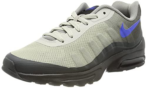 Nike Air MAX Invigor, Zapatillas de básquetbol Hombre, Black Racer Blue Anthracite, 42 EU