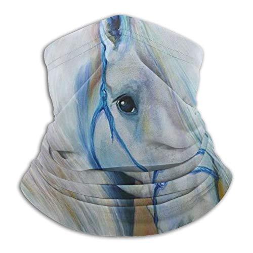 Stylish Home Bufanda mágica sin costuras de caballo blanco bufanda tubo insecto deporte hombres mujeres unisex