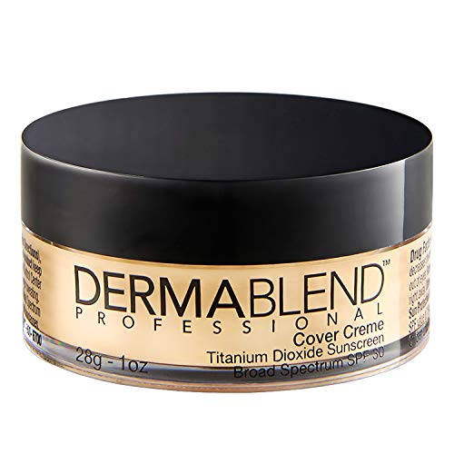 Dermablend Cover Creme High Coverage Foundation with SPF 30, 30N Sand Beige, 1 Oz.