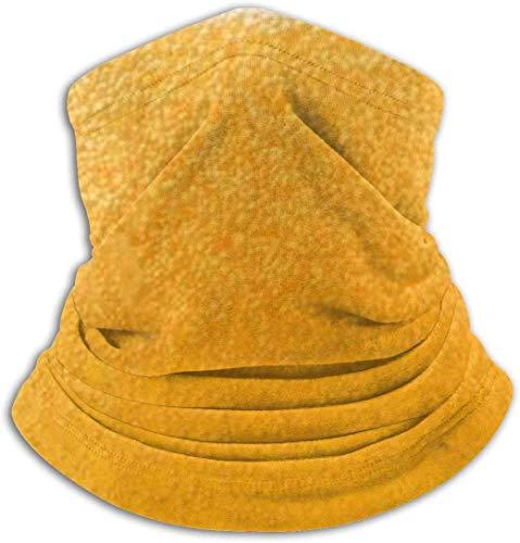 Geel bier bubble ski masker koud weer gezicht masker nek warmer fleece kap winter hoeden