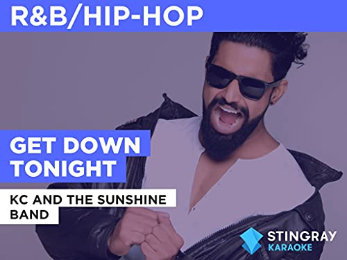 Get Down Tonight in the Style of KC And The Sunshine Band