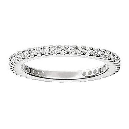 Thomas Sabo Damen-Ring Pavé Unendlichkeitsring 925 Silber Zirkonia weiß Gr. 54 (17.2) - TR1980-051-14-54