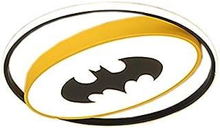 Szlight Superhero Lampara Techo para Niños Moderna Dormitorio Luz De Techo Habitación Niño Led Lámpara De Techo Lámparas De Interior Iluminación Decoraciones (40CM,Batman)