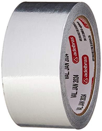 Fita Silver Tape, Aluminium, 48mmX30mts, Adelbras