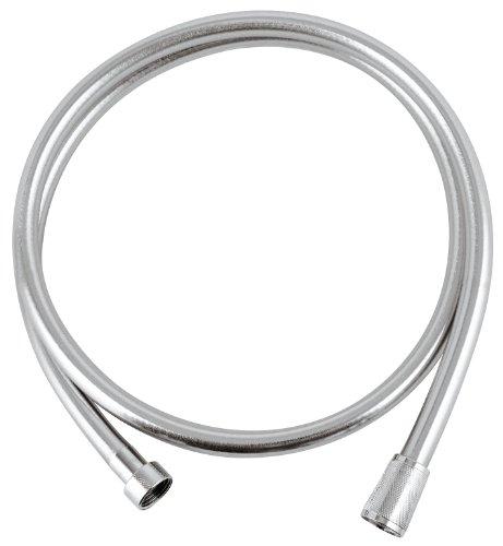 GROHE VitalioFlex Silver | Brause- und Duschsysteme - Brauseschlauch | 150 cm, TwistFree | 27505000
