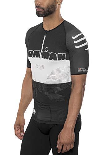 COMPRESSPORT TR3 Aero Triathlon Top Unisex Ironman Edition Stripes Black Größe T3 | L 2017 Triathlon-Bekleidung