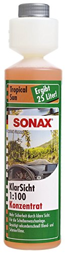 SONAX 387141 Klarsicht 1:100 Konzentrat Tropical Sun, 250 ml