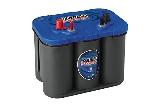 Optima Blue Top Bt Sli 4.2 Batterie Démarrage Sprial Cell, 12V 50Ah 815 Amps (En)