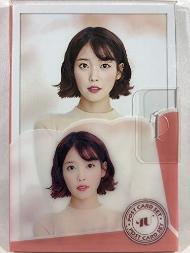 IU アイユー グッズ / プラケース入り ポストカード 16枚セット - Post Card 16sheets (is included in a Plastic Case) [TradePlace K-POP 韓国製]