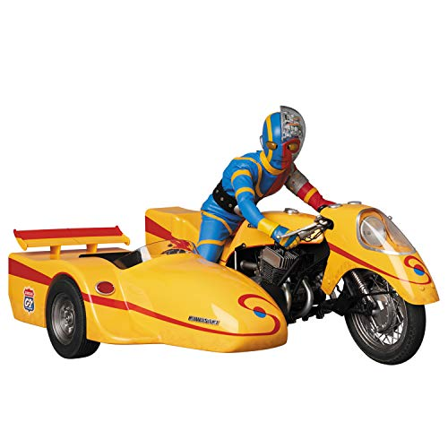 RAH リアルアクションヒーローズ No.784 キカイダー & サイドマシーン 究極版セット 全高約300mm 塗装済み アクションフィギュア セット