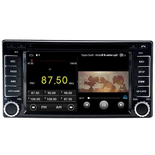 Autosion Android 10 Lecteur DVD de voiture GPS stéréo Radio Navi Multimédia Wifi pour Subaru Forester Impreza 2008-2015 Commande au volant