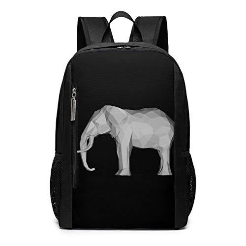Schulranzen,Elephant 3D Bookbag, Drucken Von Reisetaschen Für Das Laufen Im Fitnessstudio,30cm(W) x46cm(H)