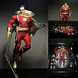 HSPHFX Capitán Magic - Modelo de Shazam, DC Comics Movable Acción Carácter Figurine, Universo...