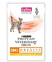 Pro Plan Veterinary Diets Om St/Ox Obesity Management Chicken Wet Cat Food 40 X 85g For Adult Cats Aged 1+ Years Who Are Overweight To Help Make Losing Weight Easier PURINA PROPLAN VETERINARY DIETS OM St/Ox Obesity Management is a complete veterinary...