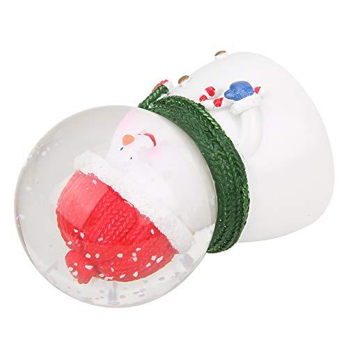 Decorações de mesa, bola de cristal luminosa de Natal fofa, presente de aniversário de decoração de Natal