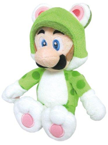 Sanei Super Mario 3D World Neko Cat Luigi 9