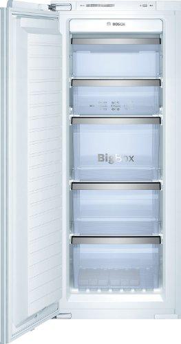 Bosch GIN25P60 Serie 8 Gefrierschrank / A++ / 139,7 cm Höhe / 209 kWh/Jahr / 160 Liter Kühlteil / 160 Liter Gefrierteil / Optischer und akustischer Alarm bei Temperaturanstieg / Eiswürfelschale