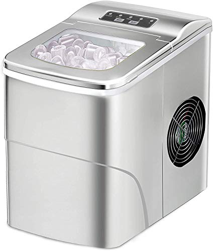 Portable Ice Maker Machine for Countertop, 9 Cubes Ready in 6-8 Minutes, Automatic Ice cube Maker...
