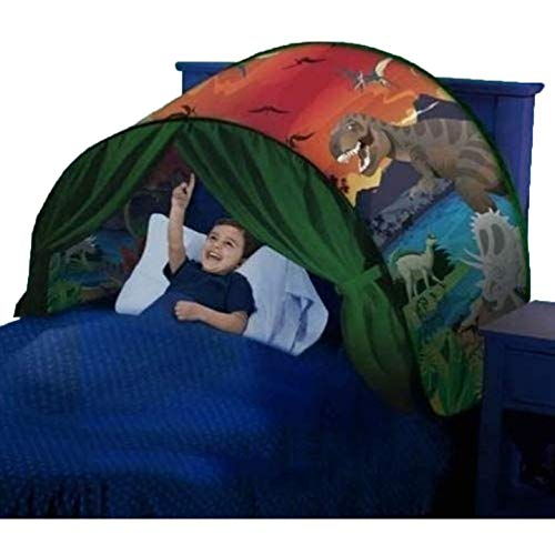 XinYiC Tent Kids Play Bedroom Decoration Childs Bed Birthday Gifts (a Dinosaur Island)