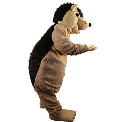 Hedgehog Porcupine Mascot Costume Cartoon Character Adult Sz Real Picture