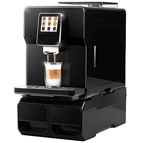 Hanchen Commercial Super Automatic Espresso Maker Touch Screen 19 Bar Automatic Water Supply One Touch Americano Espresso Cappuccino Latte Maker