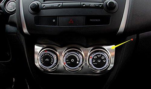 HIGH FLYING Edelstahl Matt Klimaanlage Einstellung Schalter Taste Abdeckrahmen für ASX 2013-2017