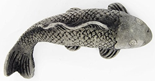 Koi Fish Concrete Statue