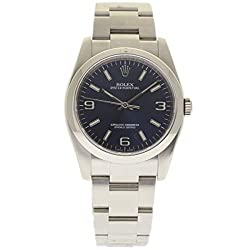 Best luxury watch under 40mm for small wrists - Rolex New Oyster Perpetual 36mm 116000 Steel Blue