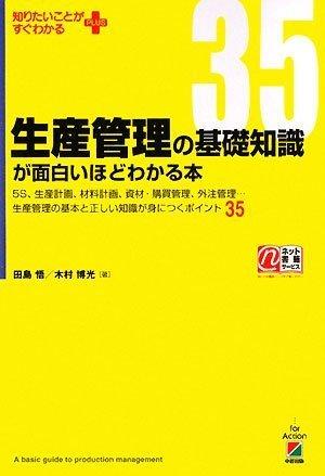 生産管理の基礎知識が面白いほどわかる本 (知りたいことがすぐわかるPLUS)