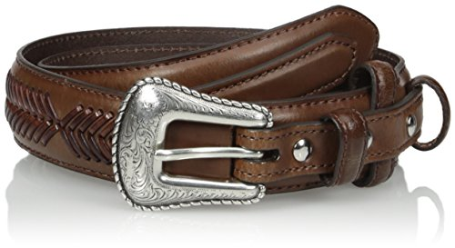 Nocona Belt Co. Men's Top Hand Brown Ranger, 36