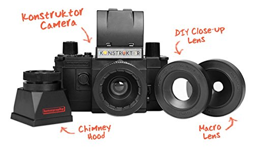 Konstruktor SLR DIY Super Kit - Cámara de Fotos analógica: Amazon ...