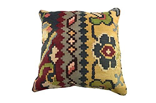 Kelim 3539 - Cojín (50 x 50 cm, funda de almohada decorativa, 50 x 20 pulgadas), diseño de Kilim Lumbar