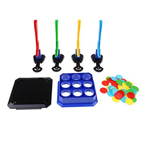 SM SunniMix Slide-Chip Shooting Brettspiel Familienspiele Spiele
