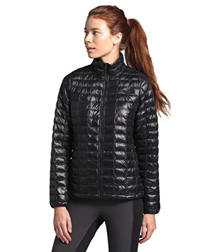 The North Face Women's Thermoball Eco Insulated Jacket - Fall or Winter Coat, TNF Black, L