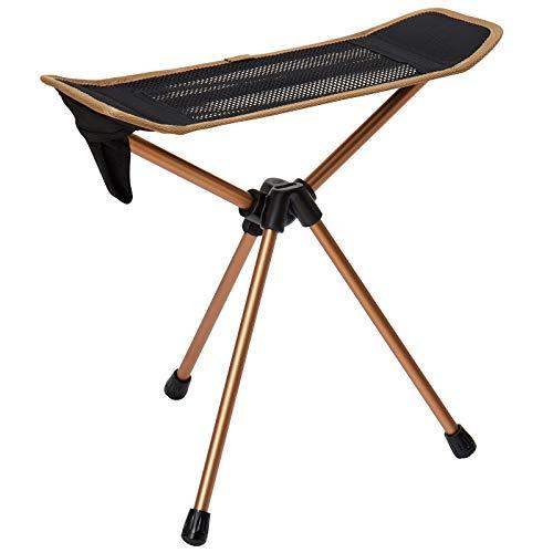 KingCamp アウトドアチェア 足置き フットレスト 折りたたみ 椅子 コンパクト イス キャンプ 携帯便利 お釣り 登山 収納袋付