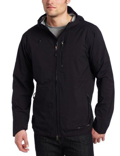 Big Sale ExOfficio Men's Rain Logic Jacket,Black,Medium
