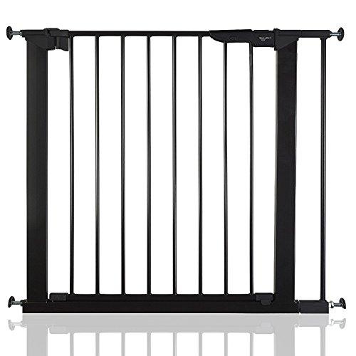 BabyDan Premier True Pressure Fit Baby Safety Stair Gate Black All Widths (79.6cm-86.5cm)
