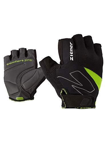 Ziener Erwachsene Crave Fahrrad, Mountainbike, Radsport-Handschuhe | Kurzfinger-Atmungsaktiv/dämpfend, Lime Green, 8