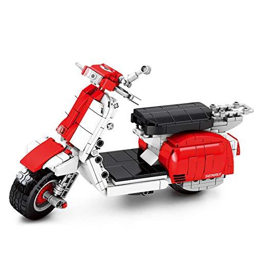 ZCXX Juego de 455 piezas Custom Motorcycle de técnica para moto de carretera, modelo de moto, juego de construcción compatible con Lego Technic