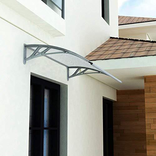 Deurluifel zonnezeil, polycarbonaat deur opening luifel deur canopy terras dak 60 * 80cm