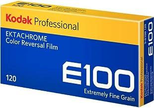 Kodak Professional Ektachrome E100 Color Transparency Film (120 Roll Film, 5-Pack)