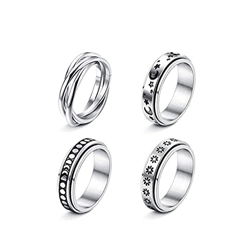 Rings - Anillo de alivio de compresión, anillo de bandas ligeras para mujer
